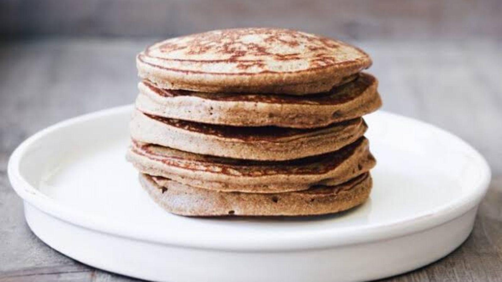 raw banana flour pancake